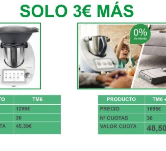 ULTIMO DIA TM6 Y ROBOT ASPIRADOR AL 0%