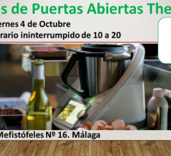 JORNADAS DE PUERTAS ABIERTAS Thermomix® EN MALAGA