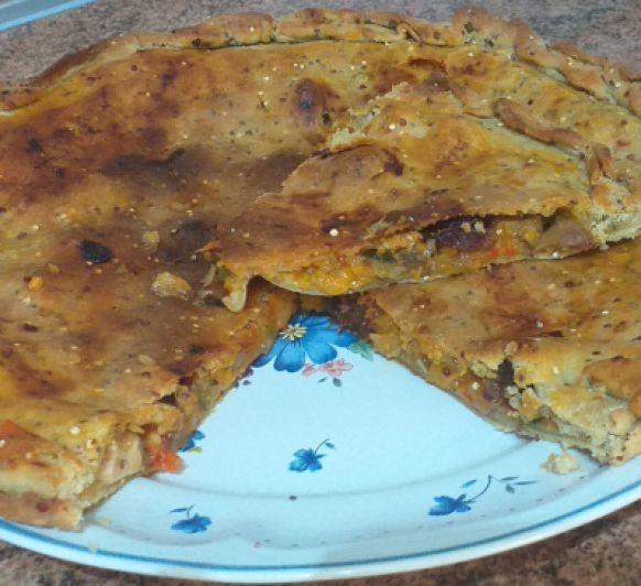 Empanada de trigo sarraceno con Thermomix®