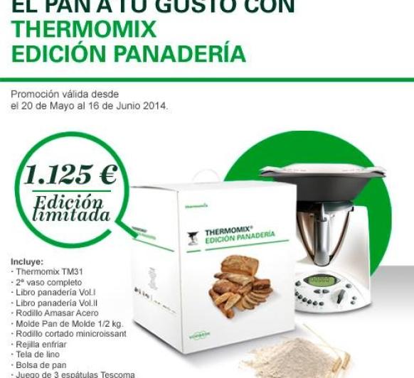 Nueva Promoción de Thermomix® : Edición Panadería