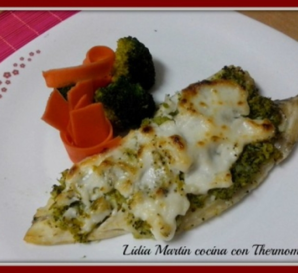 Receta de Lubina, brócoli y lactonesa con Thermomix®