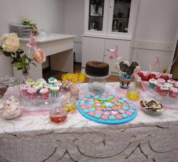 Taller Mesa de Dulces, especial para cumpleaños y comuniones