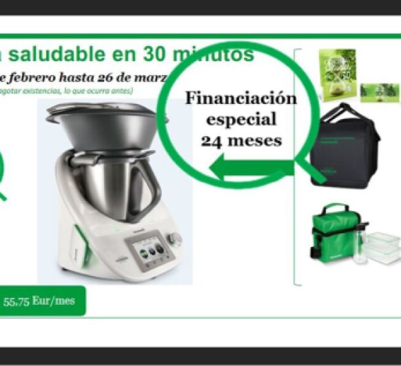 Aprovechar Thermomix® 24 meses sin intereses