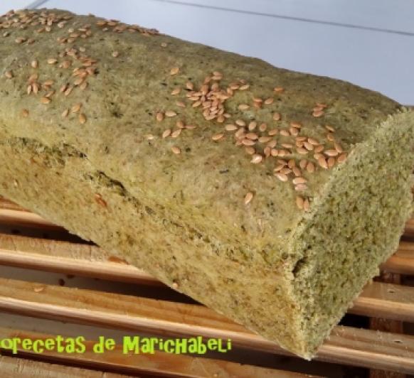 Pan Integral de Espinacas