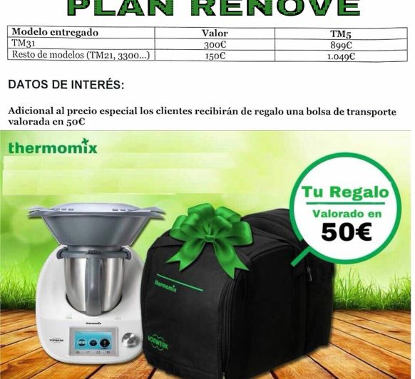 Plan renove con Thermomix®