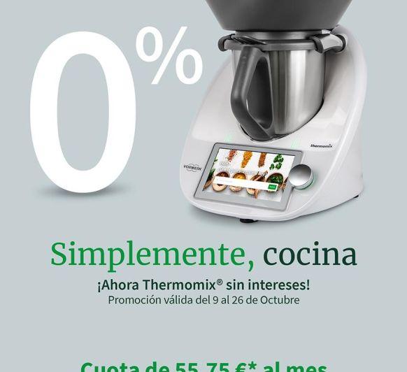 Ahora tu Thermomix® 6 sin intereses en Málaga, oprtunidad unica