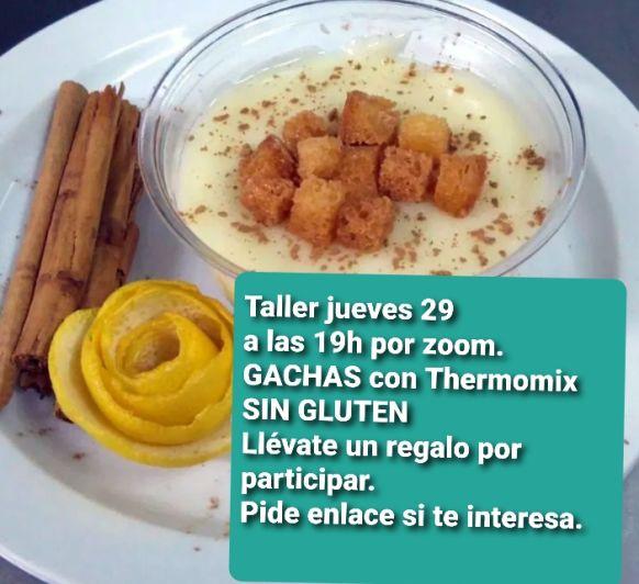 Taller del día de los Santos, GACHAS Veganas en Thermomix® , Málaga