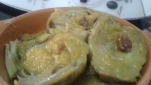 Alcachofas a la montillana